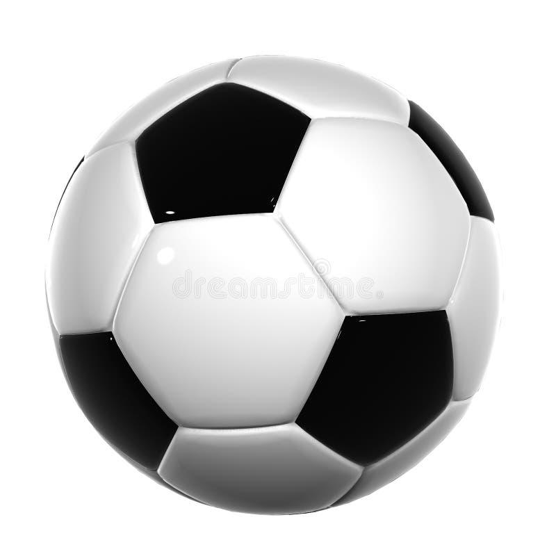 Bal 017 van het voetbal vector illustratie