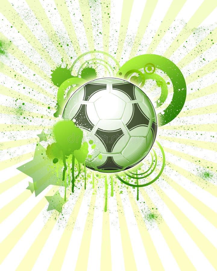 Bal 04 van het voetbal royalty-vrije illustratie