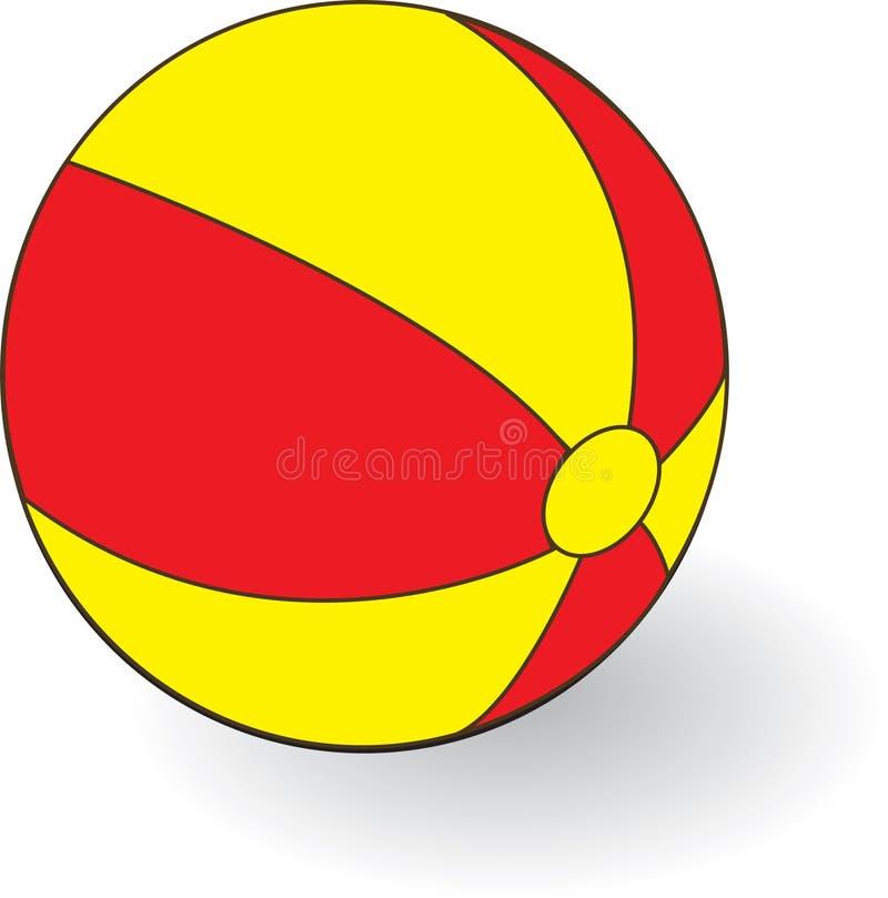 Bal vector illustratie