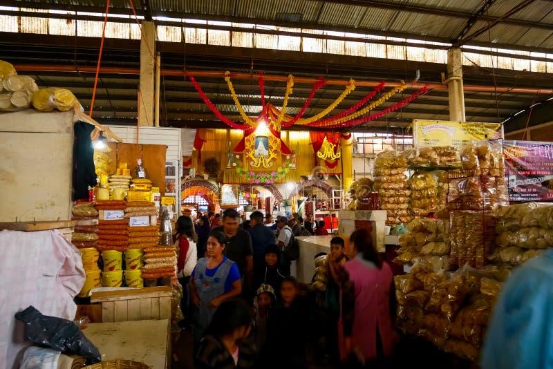 Bal de Las Casa do ³ de San CristÃ, México - 31 de julho de 2018 fotografia de stock