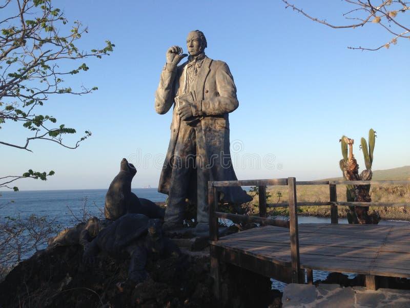 Bal del ³ di Darwin Statue San Cristà immagini stock