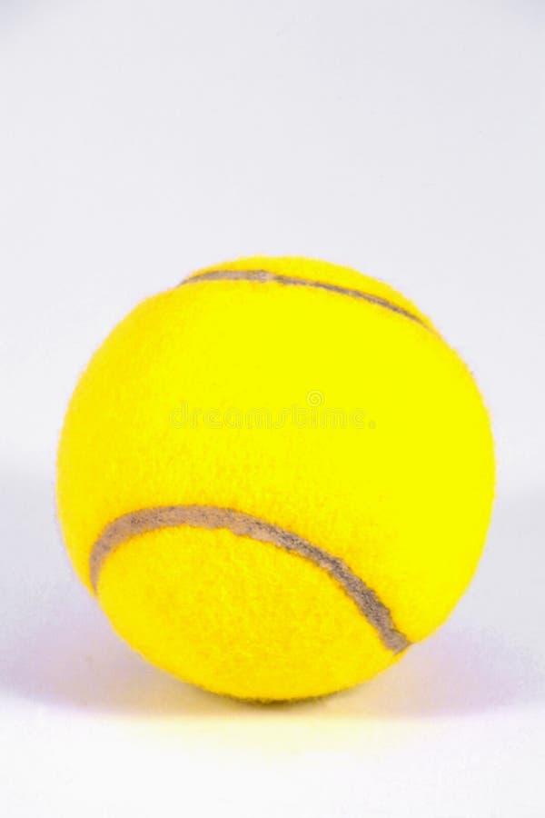 Bal van het tennis royalty-vrije stock foto's