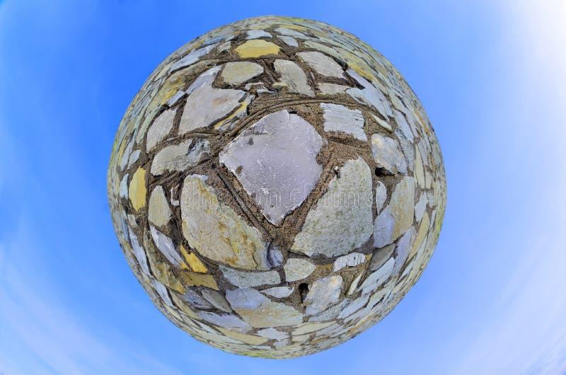 Bal van steen royalty-vrije stock foto