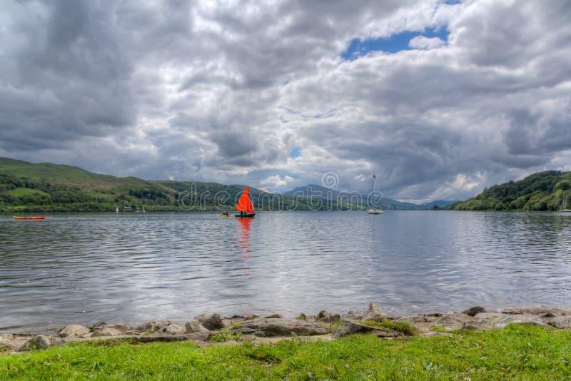 Bala Lake Wales stock foto's