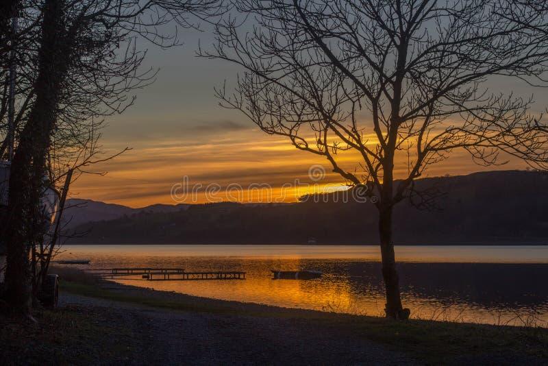 Bala Lake Wales royaltyfria foton