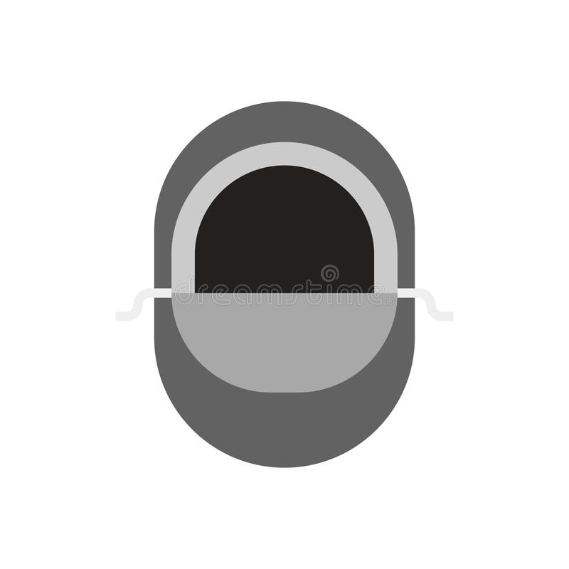 Balaclava διανυσματικό εικονίδιο απεικόνιση αποθεμάτων