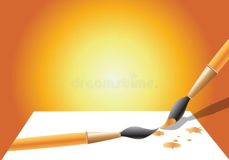 Balai   illustration stock