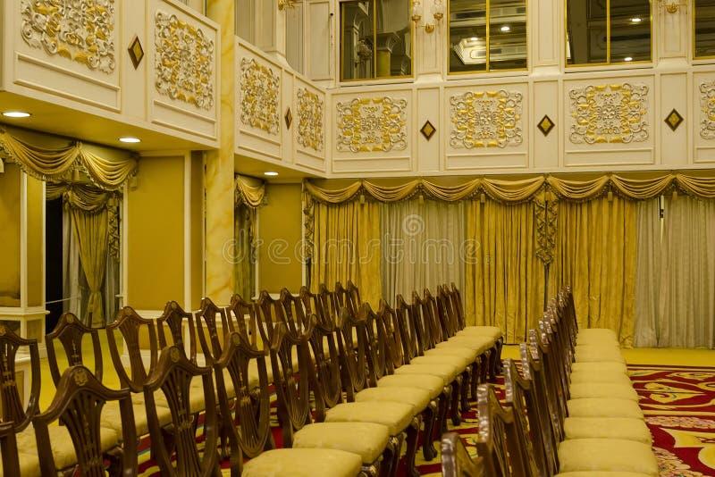 Balai Rong Seri Istana Negara, королевского музея, Малайзии стоковые изображения rf