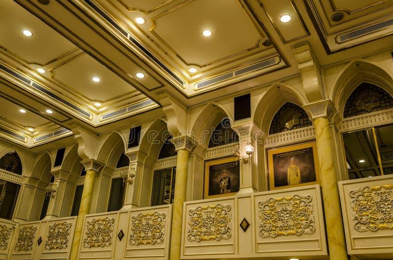 Balai Rong Seri Istana Negara, королевского музея, Малайзии стоковое изображение rf