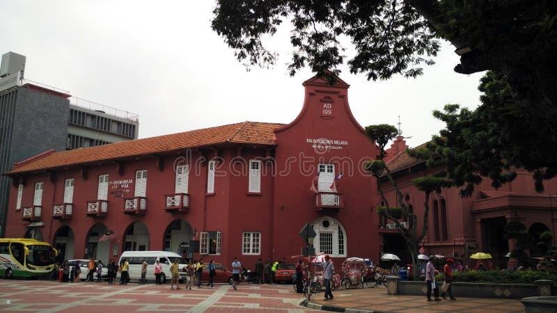 Balai Seni Lukis Melaka, Melaka 免版税库存图片
