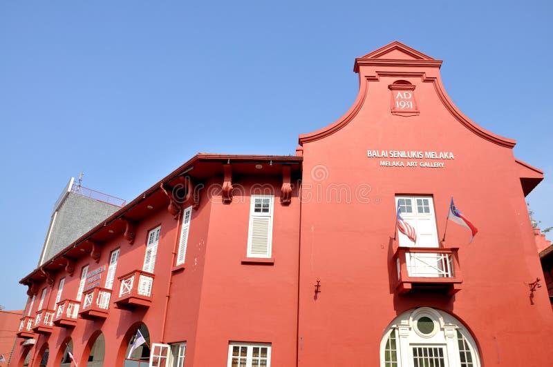 Balai Senilukis Melaka, Melaka 免版税库存照片