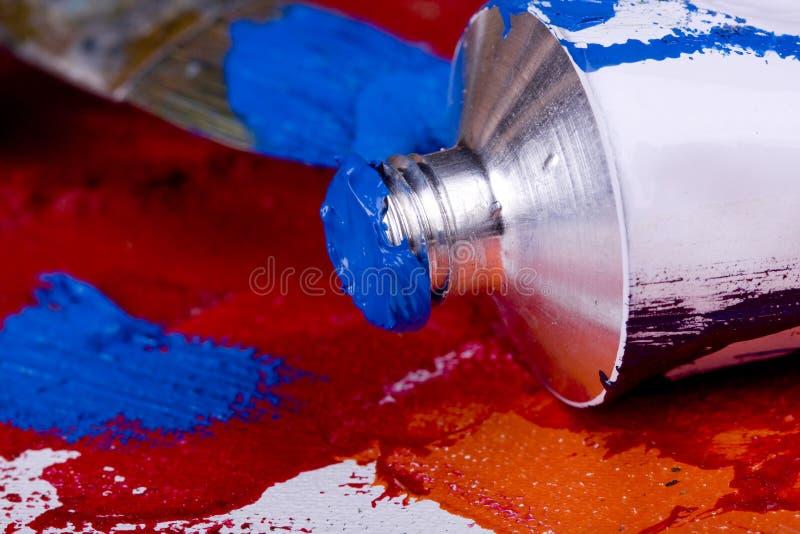 Balais de peinture image stock