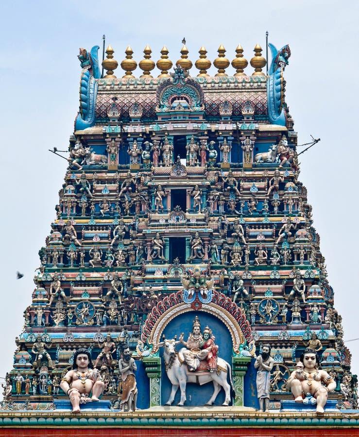 Balaji hinduska świątynia fotografia stock