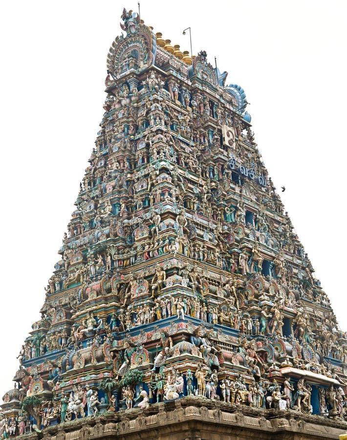 Balaji hinduska świątynia zdjęcie royalty free