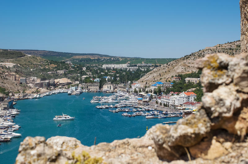 Balaklava Crimea stock images