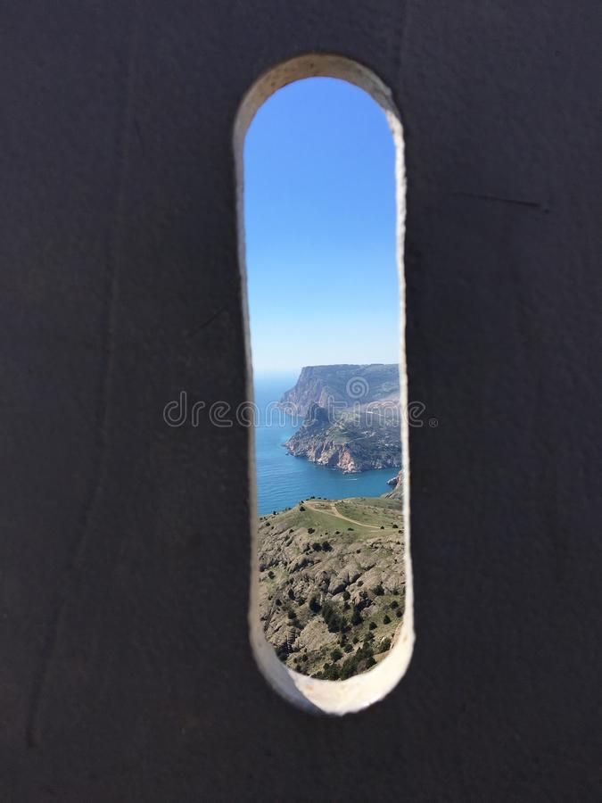 Balaklava& x27;s famous place stock photo