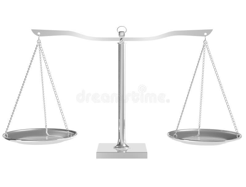 balanço 3D ilustração do vetor