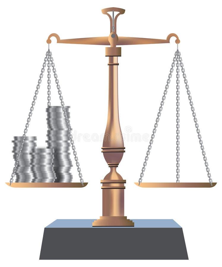 Balanço de Bronse ilustração do vetor