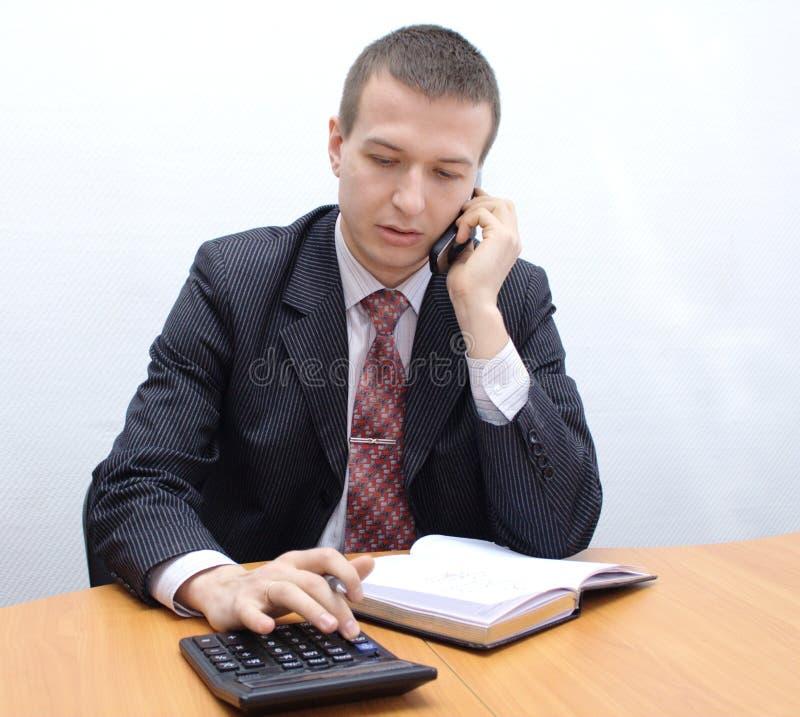 Balanço de contabilidade fotografia de stock royalty free
