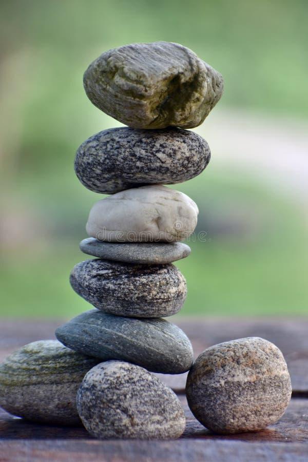 Balanço de pedra foto de stock royalty free