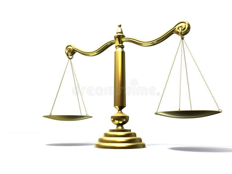 Balance illustration de vecteur