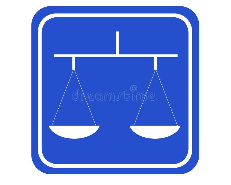 Balance stock de ilustración