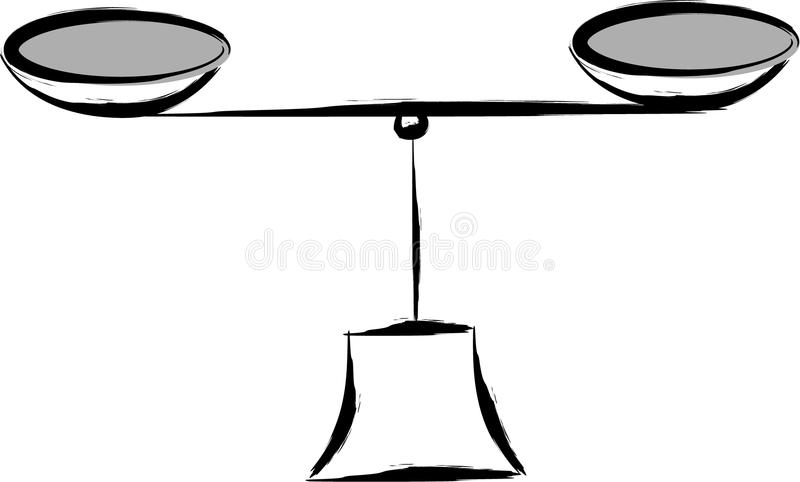 Download Balance - abstract stock vector. Image of equilibrium - 14496177