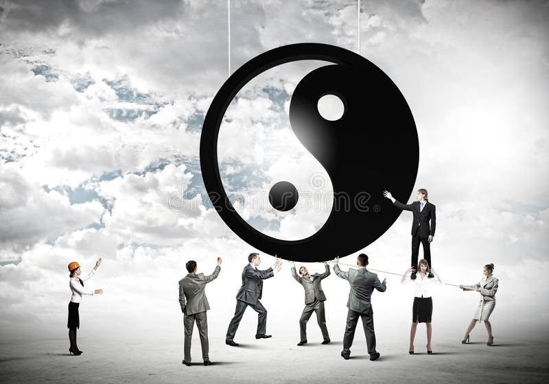 Balance concept stock image