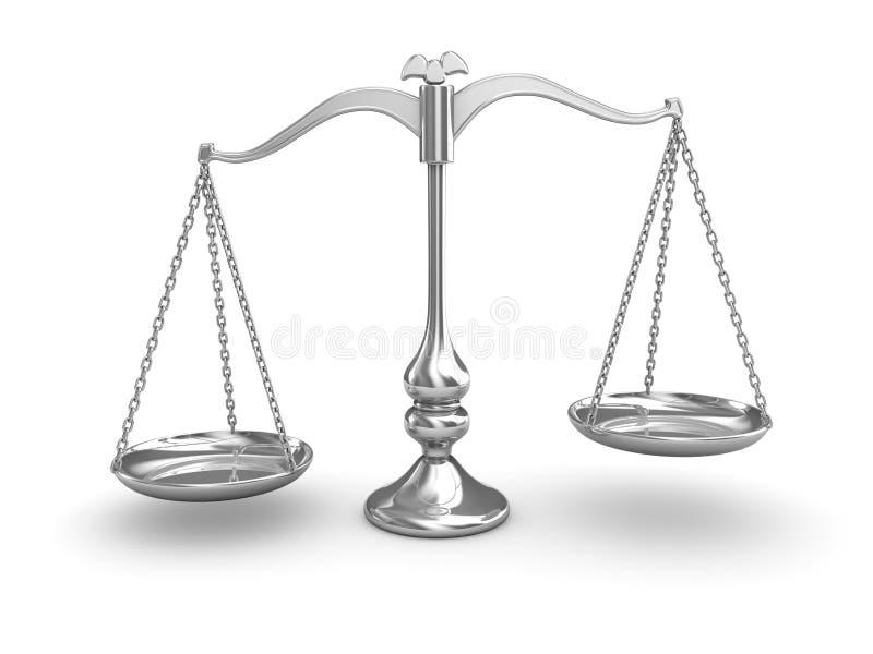 Balance de la escala libre illustration
