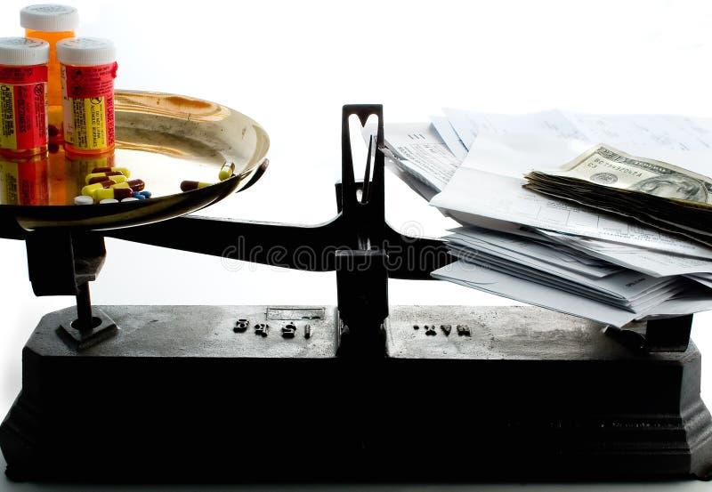 Balance del cuidado médico fotos de archivo libres de regalías