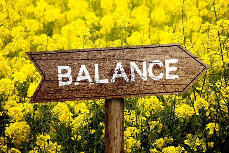 Balance roadsign stock photos