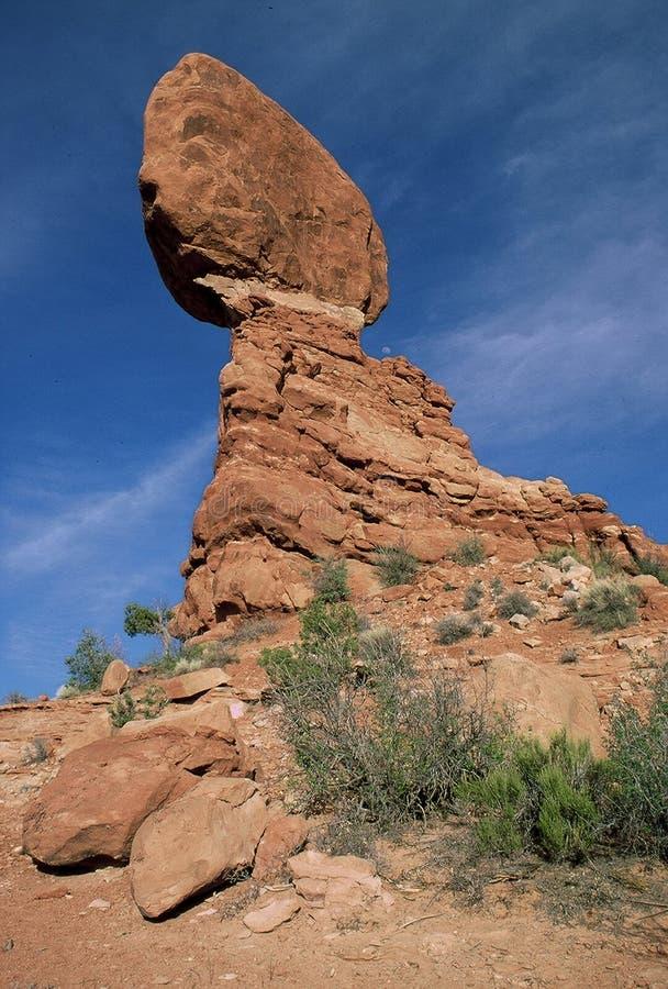 Download Balance rock 2 stock image. Image of desert, mountians, moab - 20723