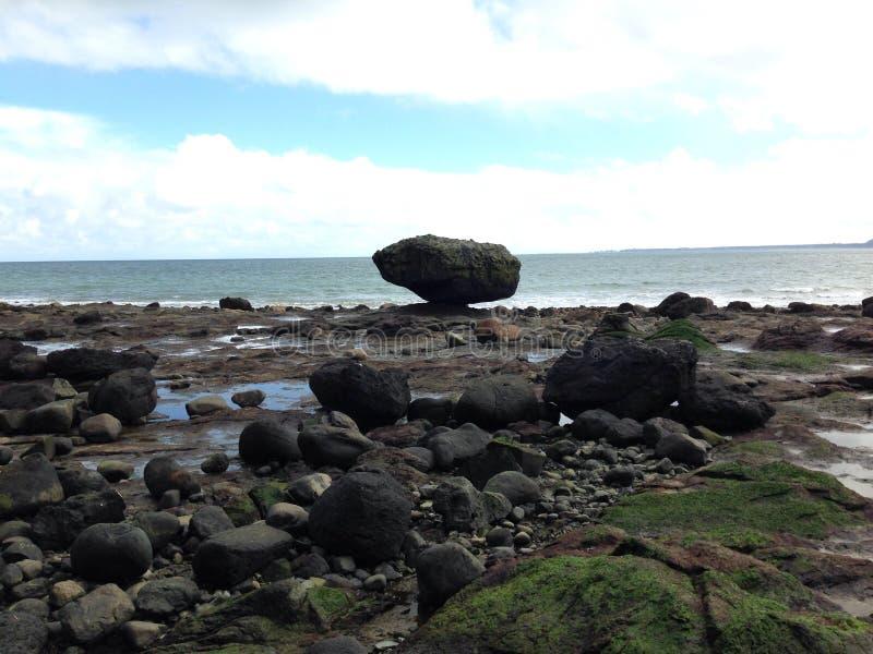 Balance rock stock photo