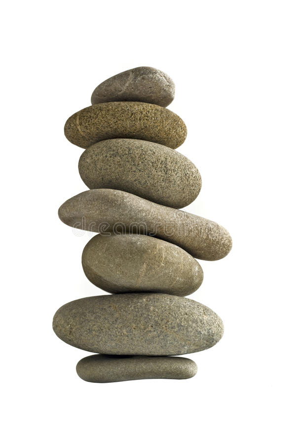 Balance Stone Tower Royalty Free Stock Images