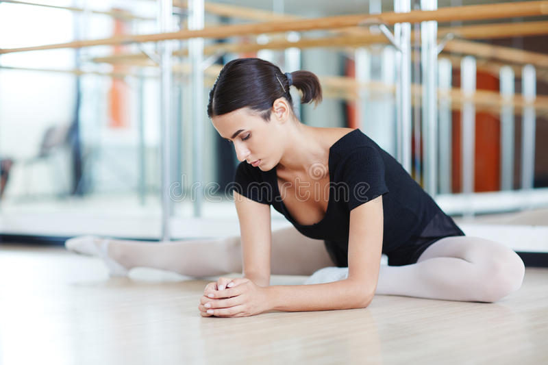 Balance and stretch royalty free stock image