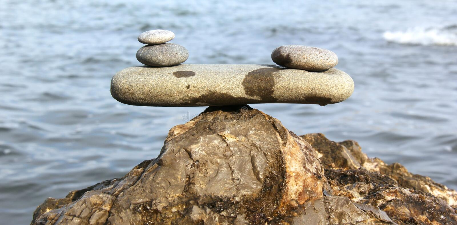 Download Balance stock image. Image of nature, stack, stone, beach - 39324261