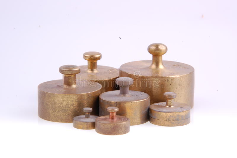 Balance Weights Royalty Free Stock Photos