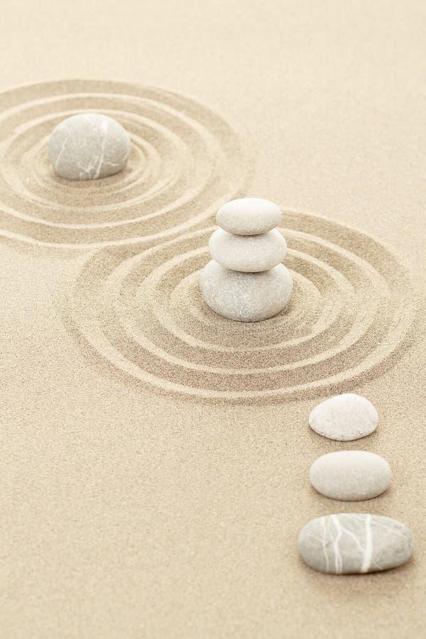 Free Balance Zen Stones In Sand Royalty Free Stock Image - 30936636