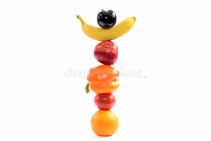 Balanced diet royalty free stock image