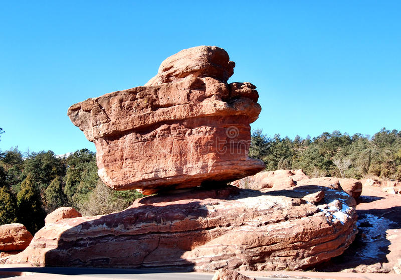 Balanced Rock stock image