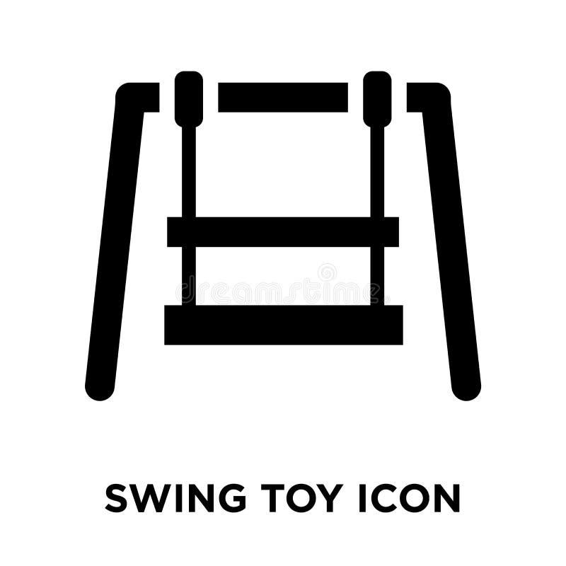Balancee el vector del icono del juguete aislado en el fondo blanco, concepto del logotipo libre illustration