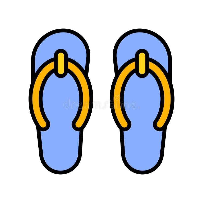Balanceos vector, icono llenado relacionado del partido del verano libre illustration
