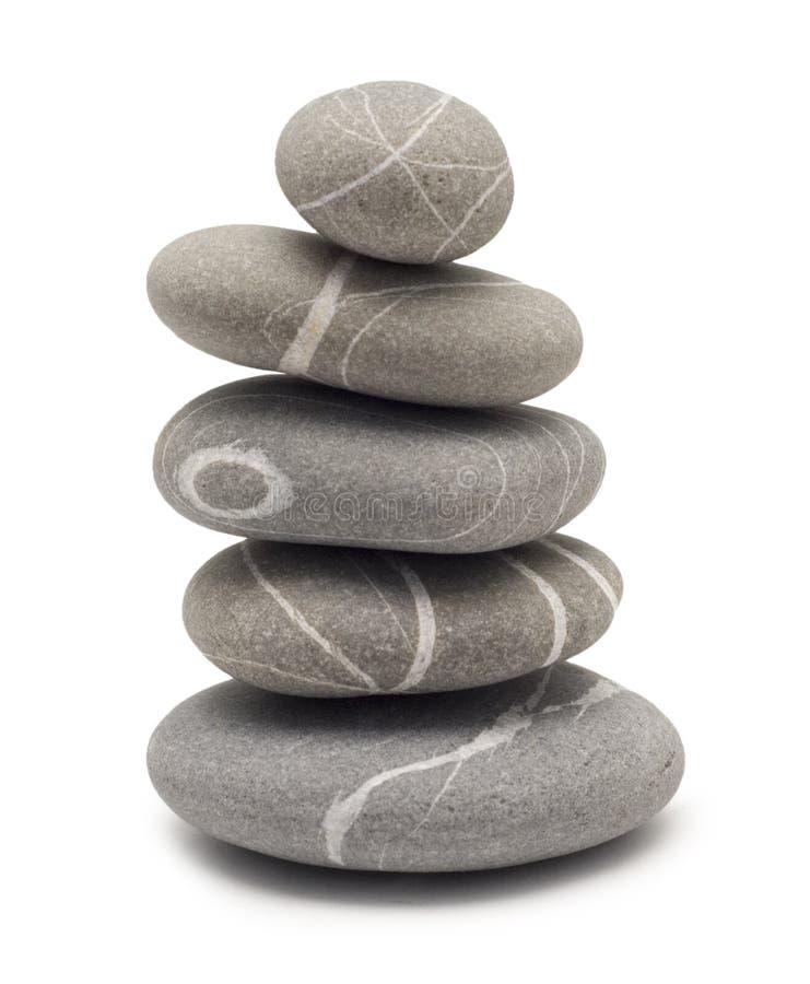 Balancierende Steine lizenzfreie stockfotos