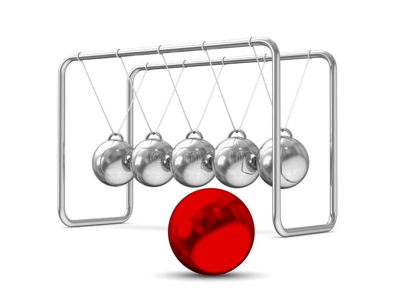 Download Balancing Balls On White Background Stock Illustration - Image: 27521277