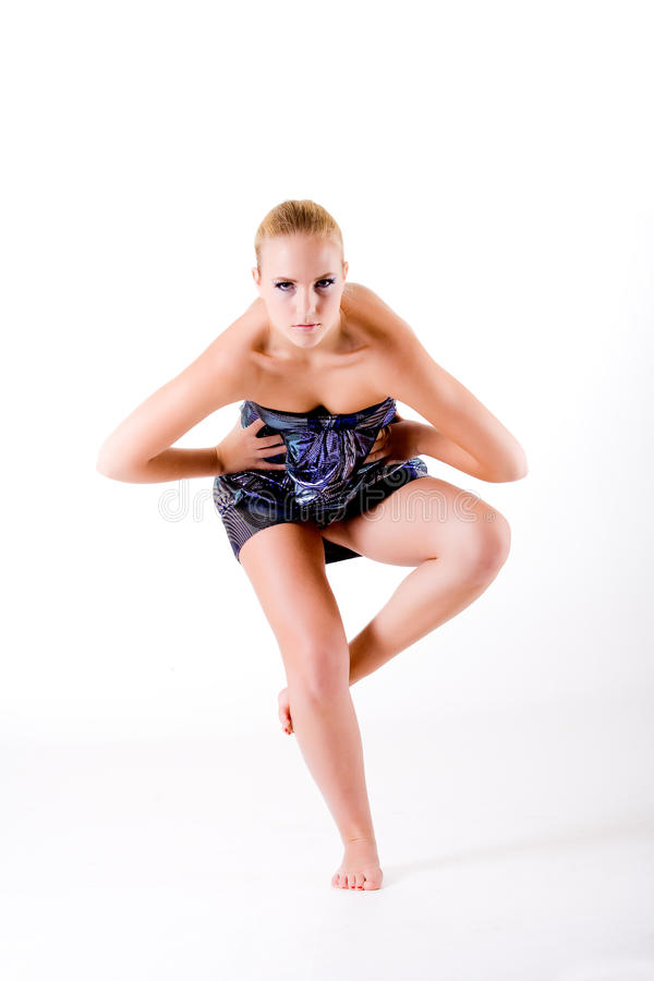 Download Balancing High Fashion Style While Looking At You Stock Photography - Image: 10506012