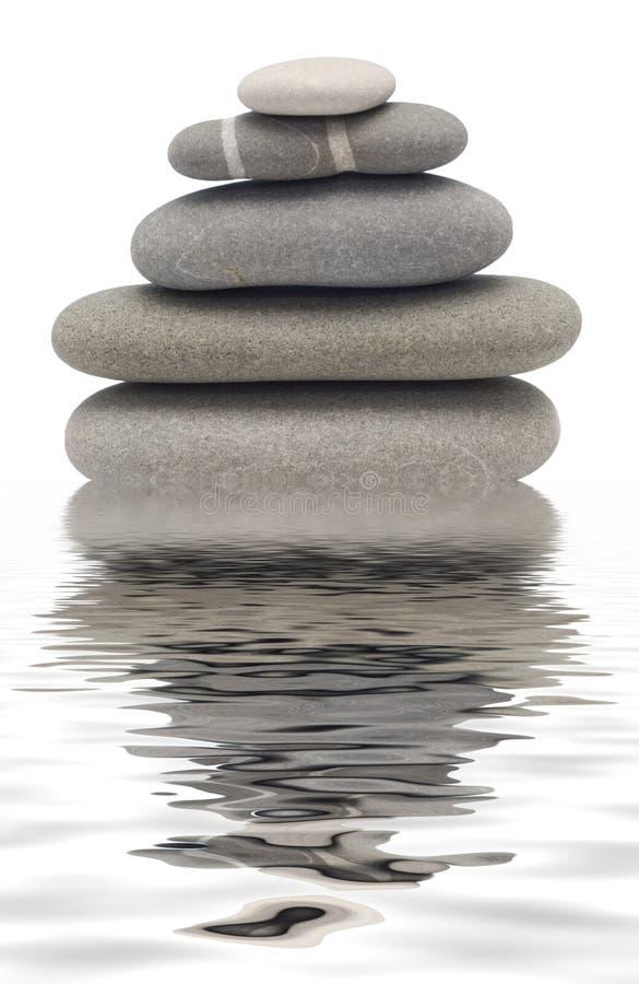 Balancing stones royalty free stock images