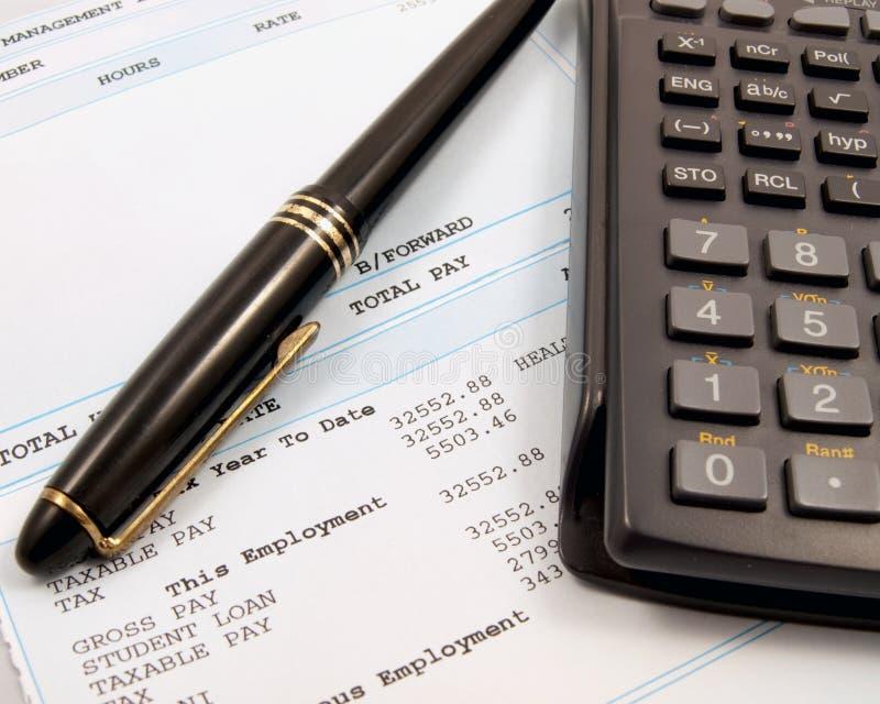 balansera finanser arkivbild