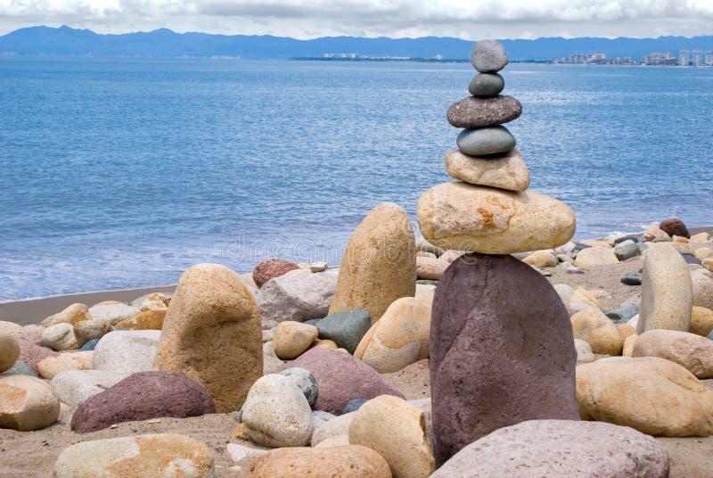 balansera rocks royaltyfria foton