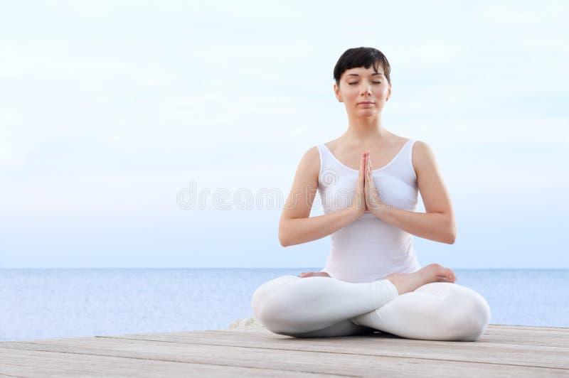 balansowa medytacja obrazy stock