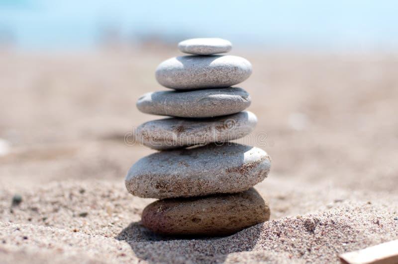 balansowy kamień zdjęcie royalty free